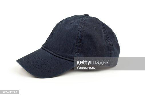Denim hat on studio shot