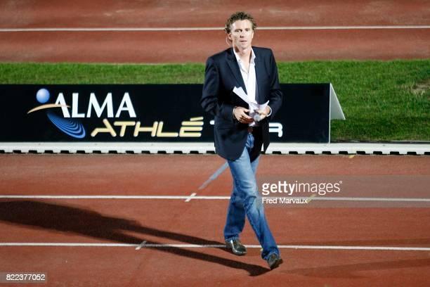 Denis Brogniart Meeting International d'Athletisme de Nancy Stanislas et de l'Alma Athle Tour 2009 Stade Raymond Petit