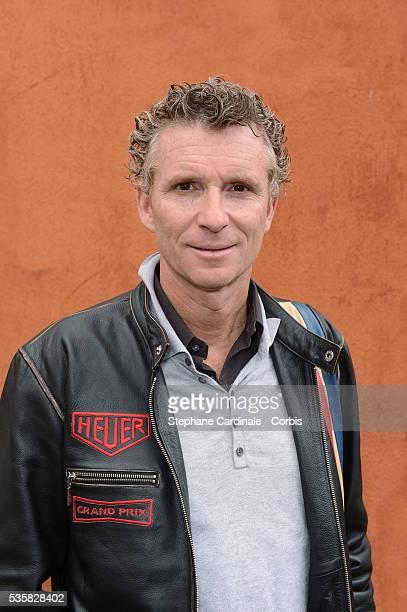 Denis Brogniart at Roland Garros Village