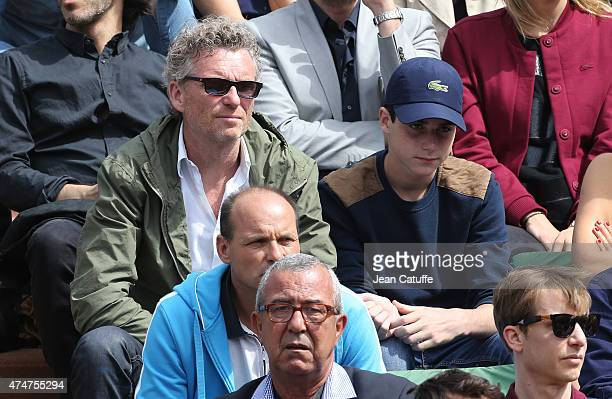 Denis Brogniart attends day 2 of the French Open 2015 at Roland Garros stadium on May 25 2015 in Paris France