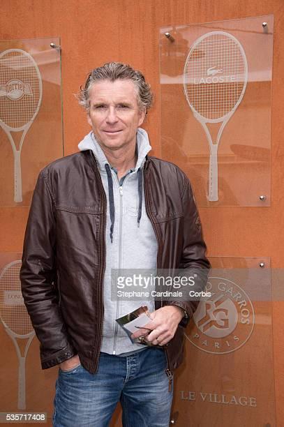 Denis Brogniart attends Roland Garros Tennis French Open 2013