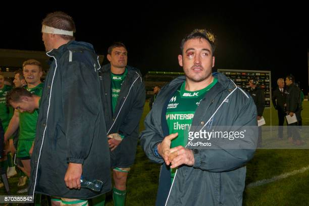 Denis Buckley of Connacht pictured after the Guinness PRO14 Round 8 rugby match between Connacht Rugby and Toyota Cheetahs at the Sportsground in...