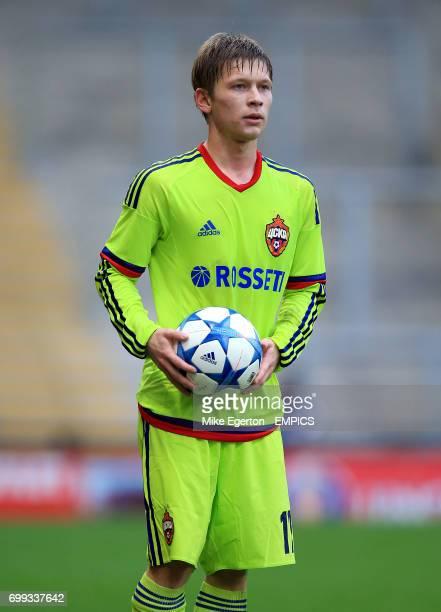 Denis Glukhov CSKA Moscow