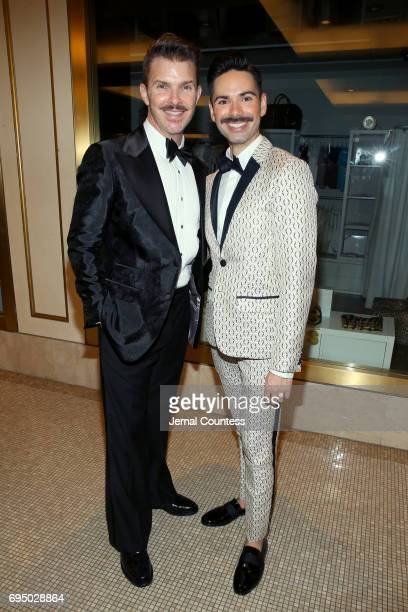 Denis Jones and Michael Strassheim attends the 2017 Tony Awards Gala at The Plaza Hotel on June 11 2017 in New York City