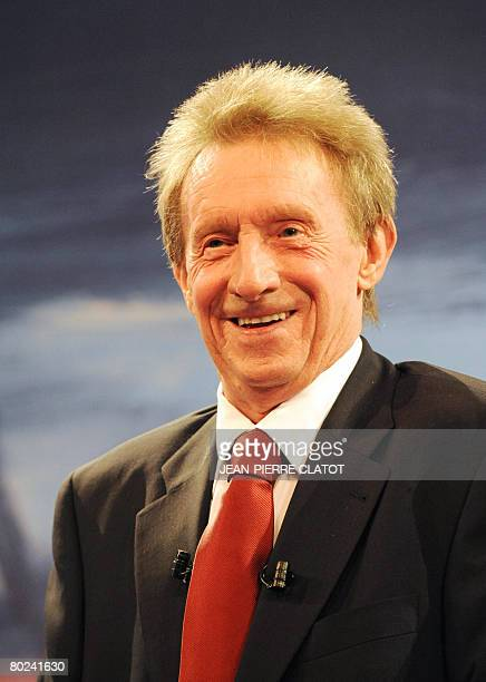 Denis Law European footballer of the year in 1964 and Ambassador for the final UEFA Cup is pictured March 14 2008 at the official draw for the...