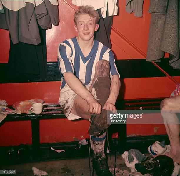 Denis Law of Huddersfield Town Mandatory Credit Don Morley/Allsport