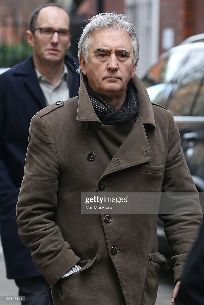 Denis Lawson attends the funeral of Roger Lloyd-Pack at St Paul's Church in Covent Garden on February 13, 2014 in London, England.