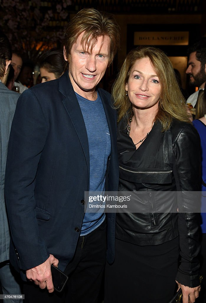 Denis Leary and Ann Lembeck attend the 2015 Tribeca Film Festival CHANEL Artists Dinner at Balthazer on April 20 2015 in New York City