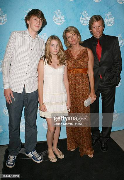Denis Leary Ann Leary and children during 58th Annual Primetime Emmy Awards Comedy Central Emmy Party at The Falcon in Hollywood California United...