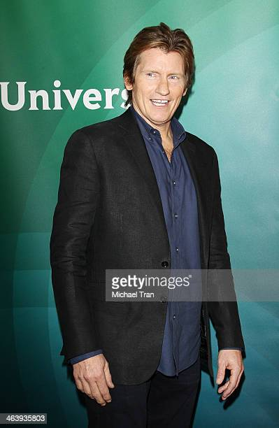 Denis Leary arrives at the NBC/Universal 2014 TCA Winter press tour held at The Langham Huntington Hotel and Spa on January 19 2014 in Pasadena...