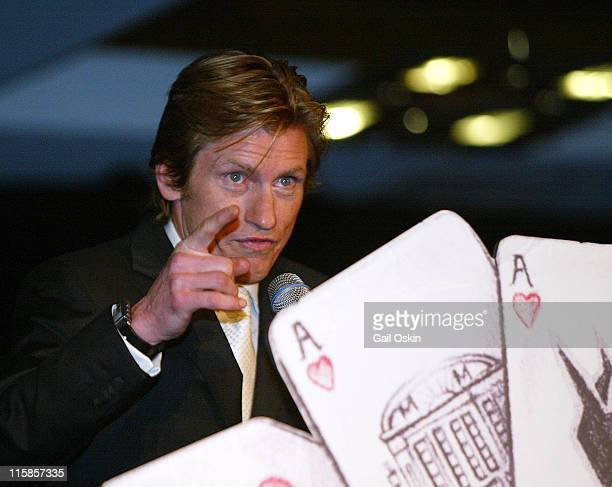 Denis Leary at the Cam Neely Foundation Fundraiser Monte Carlo Night 'Betting On A Cause And A Cure' Saturday January 28 at the Charles Hotel in...
