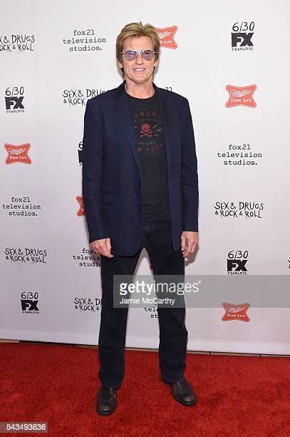Denis Leary attends the 'SexDrugsRockRoll' Season 2 Premiere at AMC Loews 34th Street 14 theater on June 28 2016 in New York City