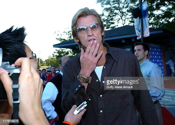 Denis Leary during 2005 US Open Women's Final Arrivals September 10 2005 at Mojito Restaurant at the USTA Tennis Center in Flushing New York United...