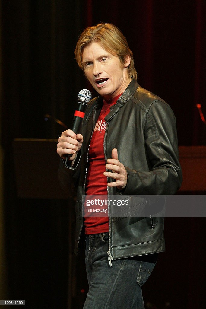 Denis Leary performs live at the Opening Night of his 'Rescue Me Comedy Tour 2' at the Borgata Hotel Casino Spa May 22 2010 in Atlantic City New...