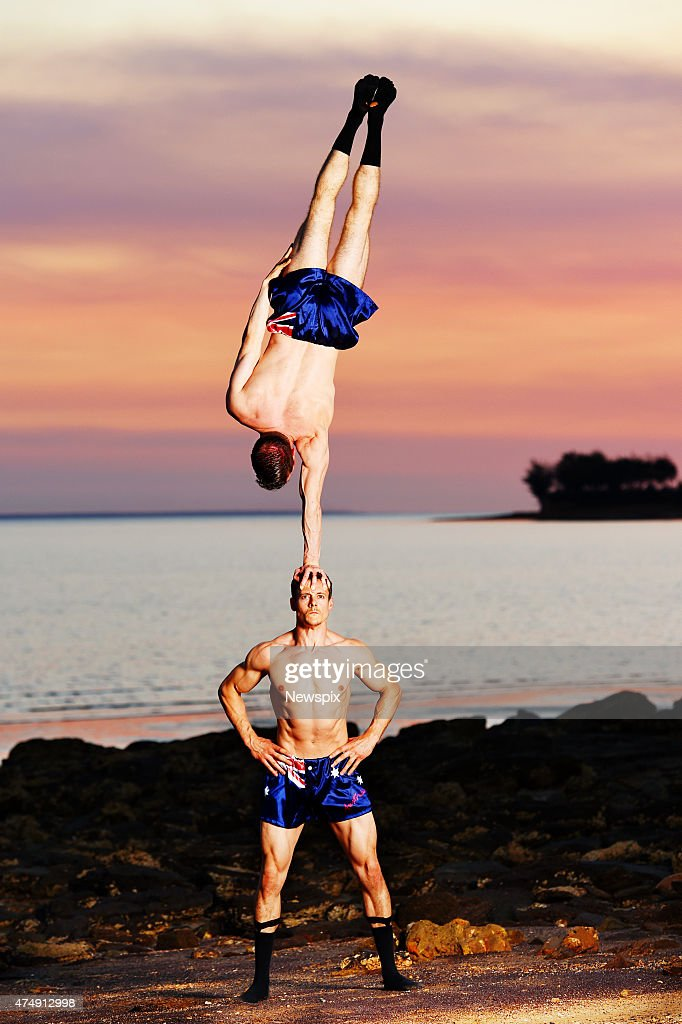 Denis Lock and Hamish McCann, who will be performing in La Soiree as The English Gents at the Darwin Entertainment Centre in Darwin, Northern Territory.