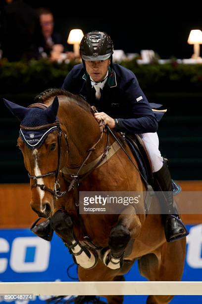 Denis Lynch attends during CSI Casas Novas Horse Jumping Competition on December 10 2017 in A Coruna Spain