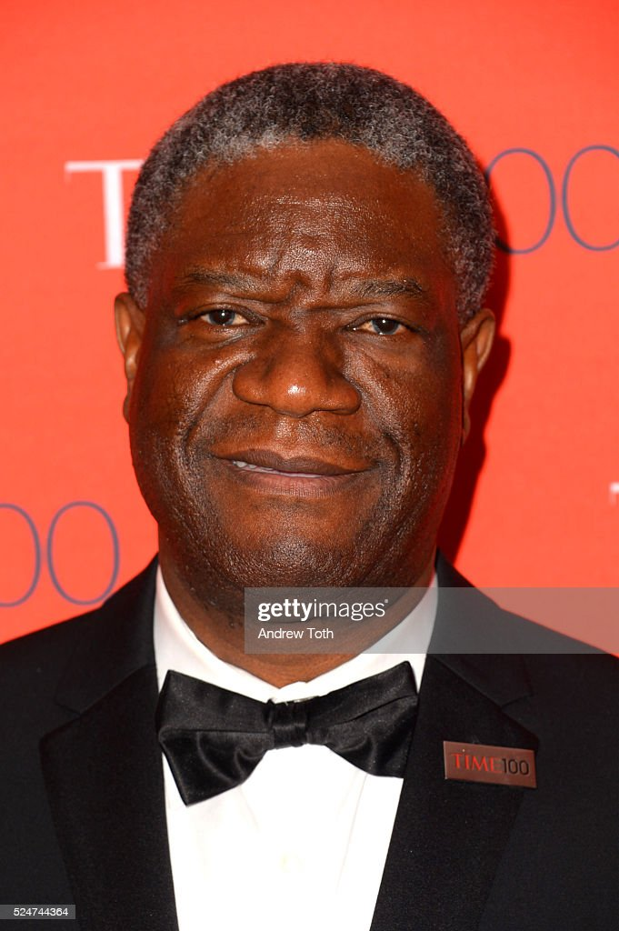 <a gi-track='captionPersonalityLinkClicked' href=/galleries/search?phrase=Denis+Mukwege&family=editorial&specificpeople=5127888 ng-click='$event.stopPropagation()'>Denis Mukwege</a> attends the 2016 Time 100 Gala at Frederick P. Rose Hall, Jazz at Lincoln Center on April 26, 2016 in New York City.