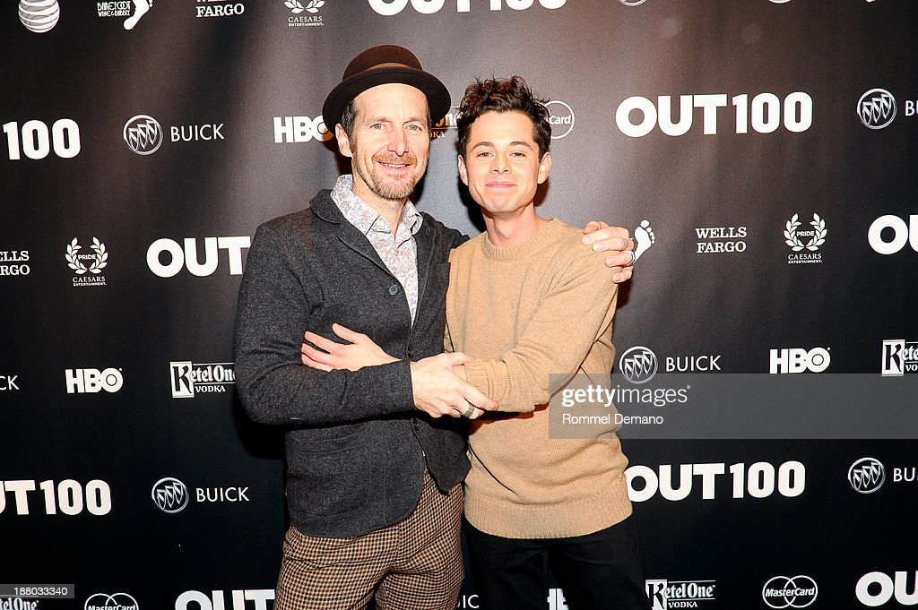 <a gi-track='captionPersonalityLinkClicked' href=/galleries/search?phrase=Denis+O%27Hare&family=editorial&specificpeople=213830 ng-click='$event.stopPropagation()'>Denis O'Hare</a> and <a gi-track='captionPersonalityLinkClicked' href=/galleries/search?phrase=Paul+Iacono&family=editorial&specificpeople=5588186 ng-click='$event.stopPropagation()'>Paul Iacono</a> attend the 2013 OUT100 gala at Terminal 5 on November 14, 2013 in New York City.
