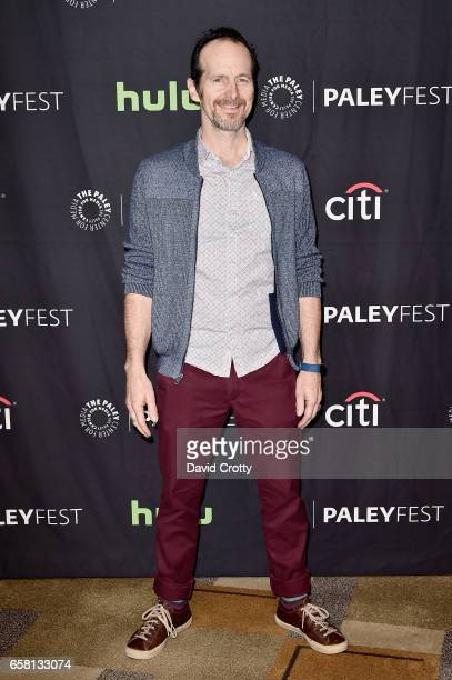 Denis O'Hare attends PaleyFest Los Angeles 2017 'American Horror Story Roanoke' at Dolby Theatre on March 26 2017 in Hollywood California