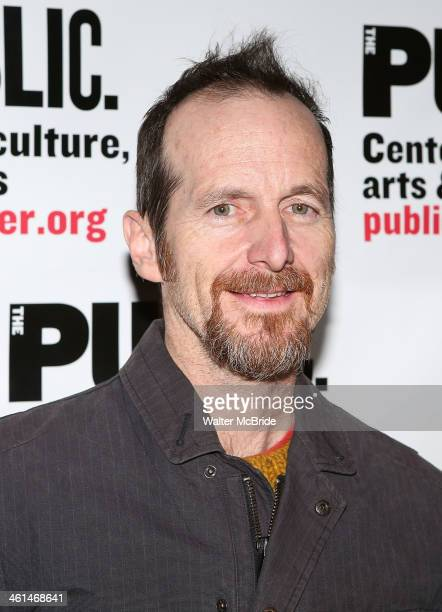 Denis O'Hare attends the 2014 Under the Radar Festival Opening Night Celebration at The Public Theater on January 8 2014 in New York City