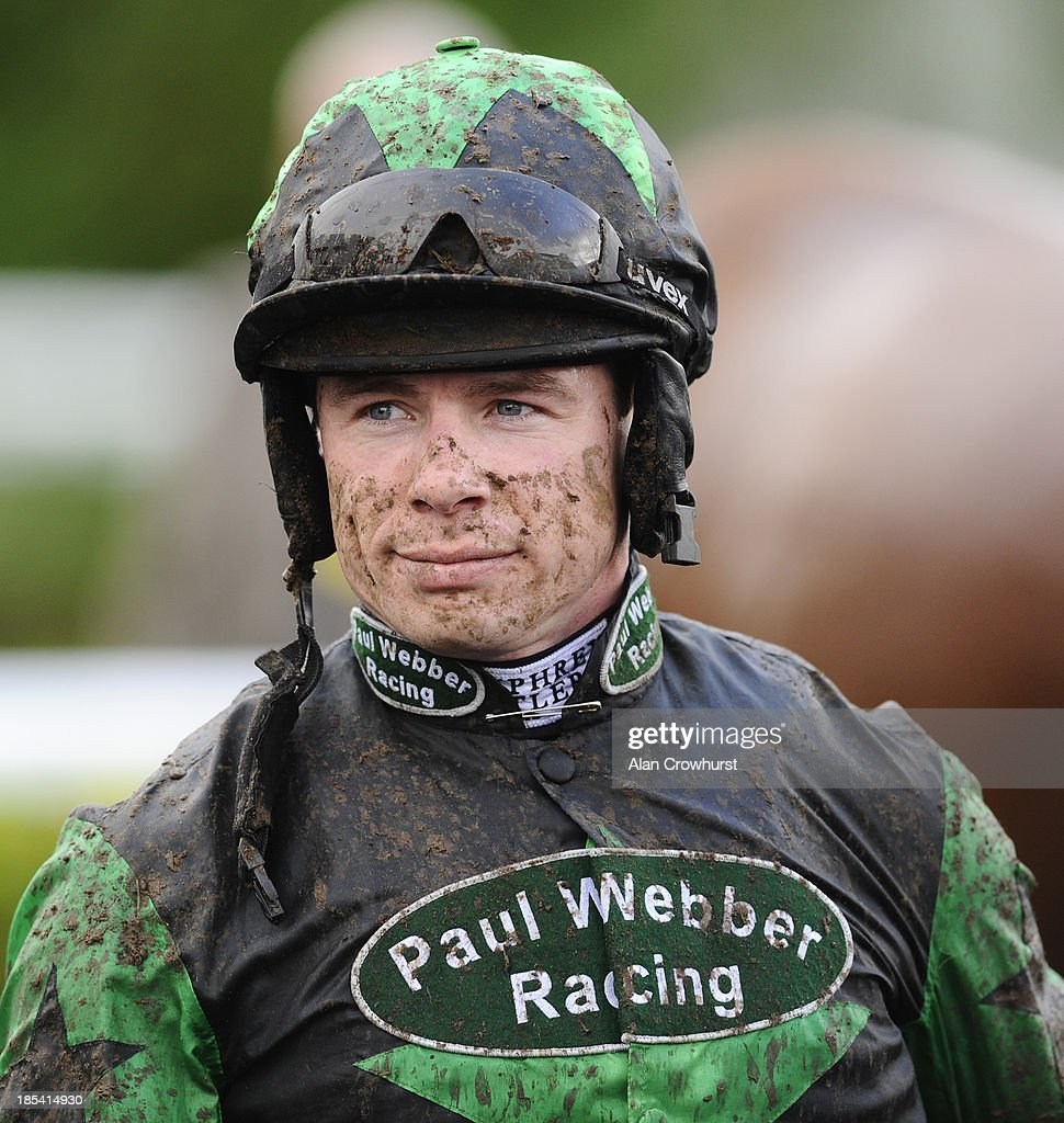 Denis O'Regan poses at Kempton Park racecourse on October 20, 2013 in Sunbury, England.