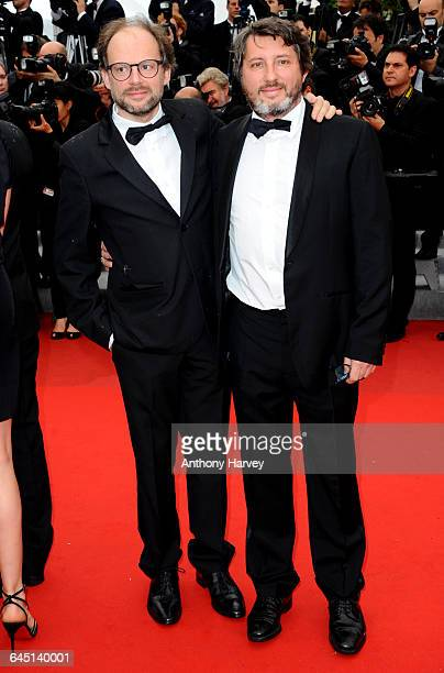 Denis Podalydes and Bruno Podalydes attend the 'Vous N'avez Encore Rien Vu' Premiere during the 65th Annual Cannes Film Festival at Palais des...