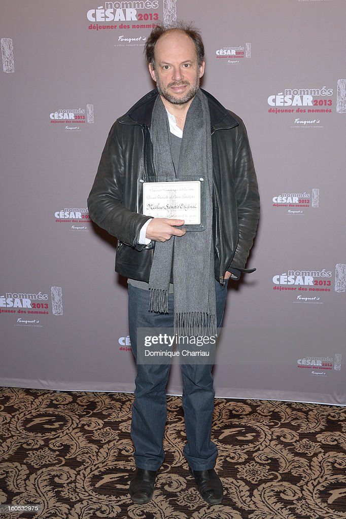 Denis Podalydes attends the Cesar 2013 Nominee Lunch at Le Fouquet's on February 2, 2013 in Paris, France.