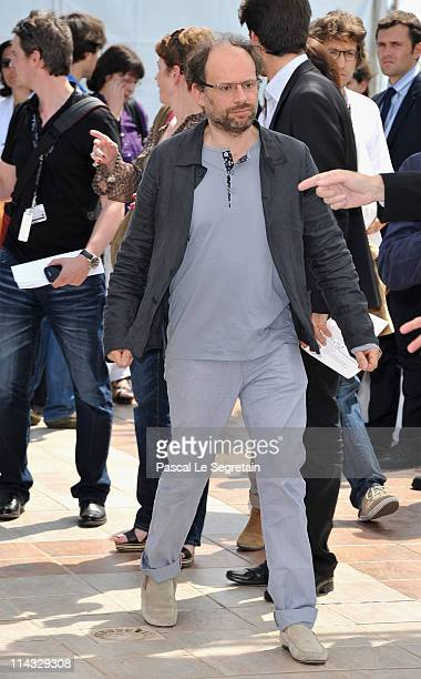 Denis Podalydes attends the 'La Conquete' photocall at the Palais des Festivals during the 64th Cannes Film Festival on May 18 2011 in Cannes France
