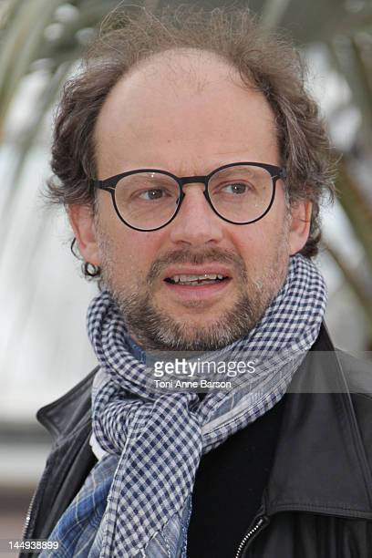 Denis Podalydes attends 'Vous N'avez Encore Rien Vu' Photocall at Palais des Festivals on May 21 2012 in Cannes France