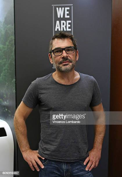 Denis Rouvre attends the 2017 Lavazza Calendar Presentation on September 20 2016 in Milan Italy