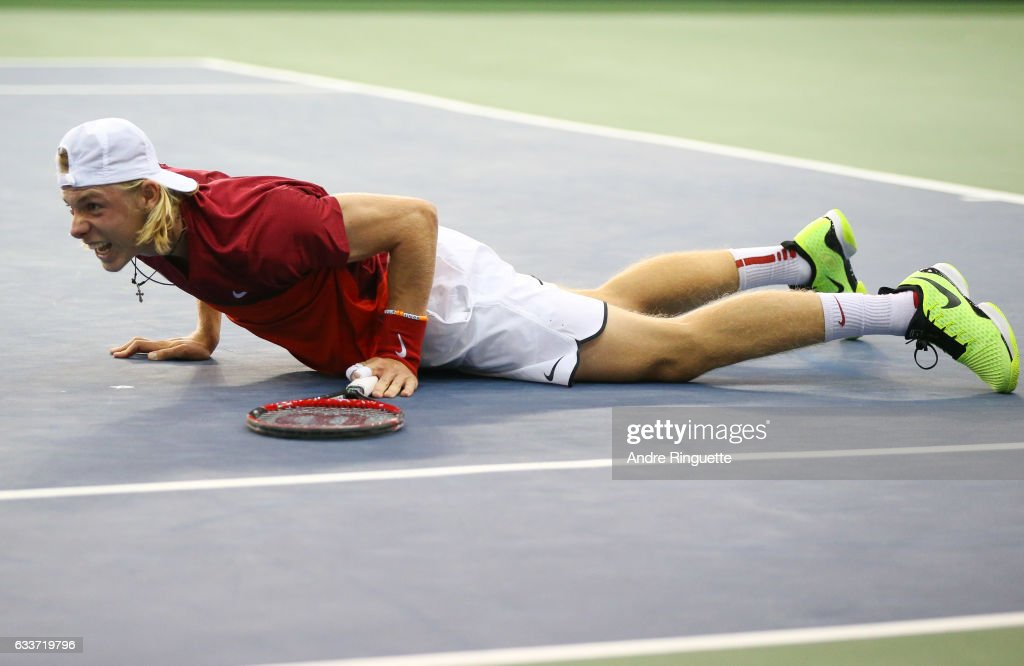 Canada v GB: Davis Cup by BNP Paribas World Group First Round - Day 1
