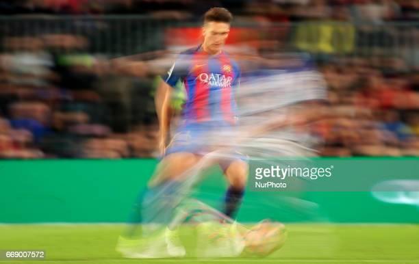 Denis Suarez during La Liga match between FC Barcelona v Real Sociedad in Barcelona on April 15 2017 Photo Joan Valls/Urbanandsport/Nurphoto