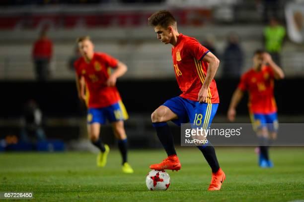 Denis Suarez during the friendly match of national teams U21 of Spain vs Denmark in stadium Nueva Condomina Murcia SPAIN March 23rd 2017