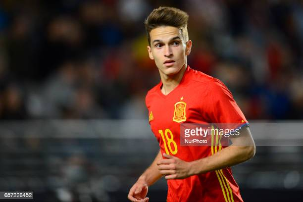 Denis Suarez during the friendly match of national teams U21 of Spain vs Denmark in stadium Nueva Condomina Murcia SPAIN March 23rd 2017