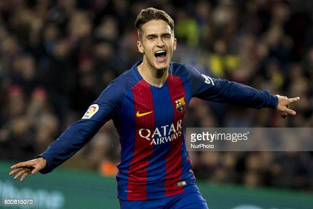 Denis Suarez during the king's cup match between FC Barcelona and Real Sociedad in Barcelona on January 26 2017