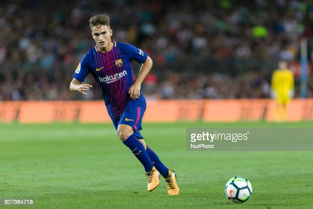 Denis Suarez during the match between FC Barcelona vs Chapecoense for the Joan Gamper trophy played at Camp Nou Stadium on 7th August 2017 in...
