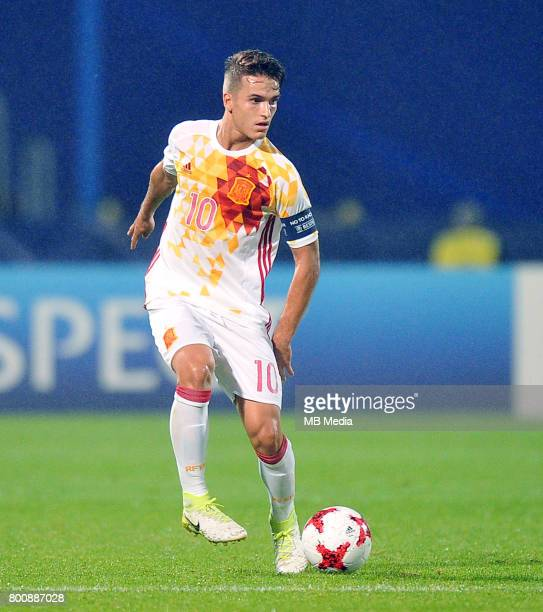 Denis Suarez during the UEFA European Under21 match between Serbia and Spain at Arena Bydgoszcz on June 23 2017 in Bydgoszcz Poland