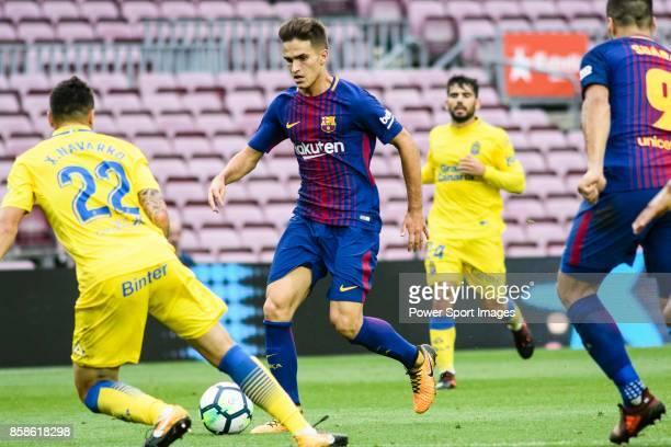 Denis Suarez Fernandez of FC Barcelona in action during the La Liga 201718 match between FC Barcelona and Las Palmas at Camp Nou on 01 October 2017...