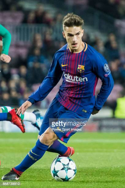 Denis Suarez Fernandez of FC Barcelona in action during the UEFA Champions League 201718 match between FC Barcelona and Sporting CP at Camp Nou on 05...