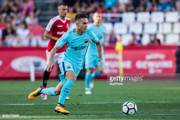06 Denis Suarez from Spain of FC Barcelona during the friendly match between Nastic vs FC Barcelona at Nou Estadi de Tarragona on August 4th 2017 in...