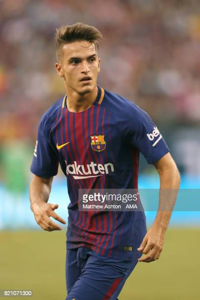 Denis Suarez of FC Barcelona during the International Champions Cup 2017 match between Juventus and FC Barcelona at MetLife Stadium on July 22 2017...