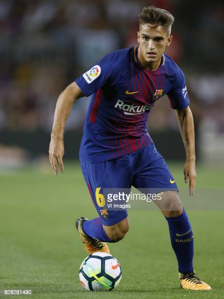 Denis Suarez of FC Barcelona during the Trofeu Joan Gamper match between FC Barcelona and Chapecoense on August 7 2017 at the Camp Nou stadium in...