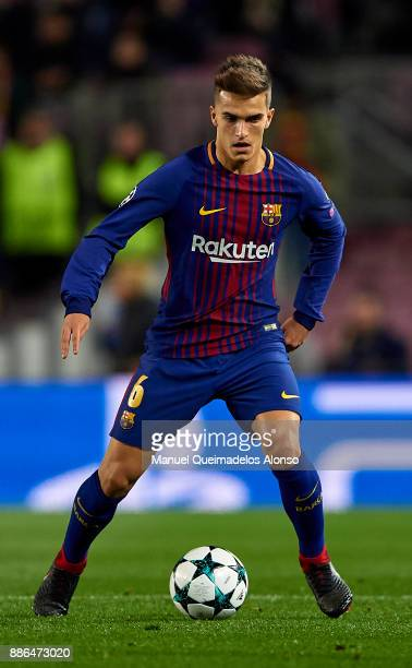 Denis Suarez of FC Barcelona in action during the UEFA Champions League group D match between FC Barcelona and Sporting CP at Camp Nou on December 5...
