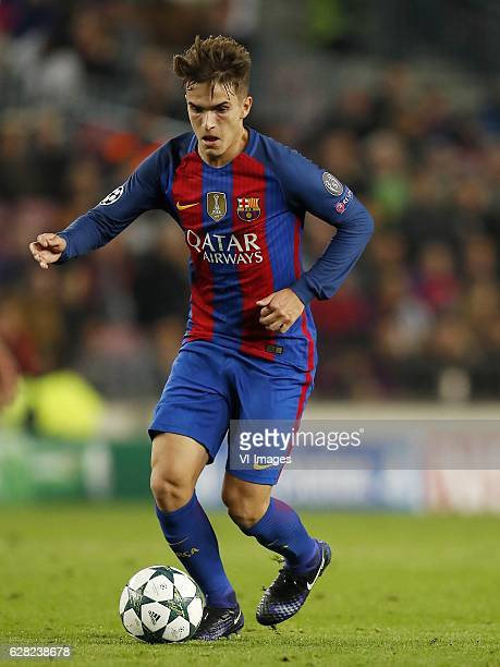 Denis Suarez of FC Barcelonaduring the UEFA Champions League group C match between FC Barcelona and Borussia Monchengladbach on December 06 2016 at...