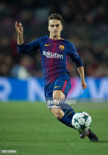 Denis Suárez of Barcelona during the UEFA Champions League Group D match between Barcelona and Sporting Lisbon at the Camp Nou Stadium on December 5...