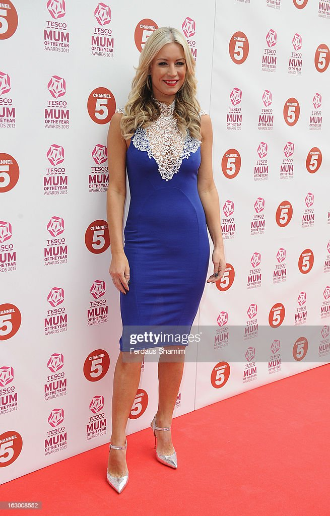 Denis Van Outen attends the Tesco Mum of the Year awards at The Savoy Hotel on March 3, 2013 in London, England.