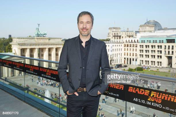 Denis Villeneuve poses for the 'Blade Runner 2049' photo call at Akademie der Kuenste on September 17 2017 in Berlin Germany