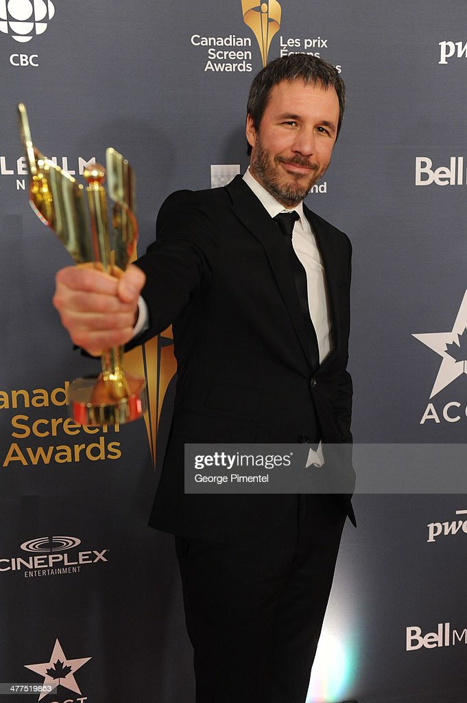 <a gi-track='captionPersonalityLinkClicked' href=/galleries/search?phrase=Denis+Villeneuve&family=editorial&specificpeople=6688941 ng-click='$event.stopPropagation()'>Denis Villeneuve</a> winner the acheivement in Direction award in the press room at the 2014 Canadian Screen Awards at Sony Centre for the Performing Arts on March 9, 2014 in Toronto, Canada.