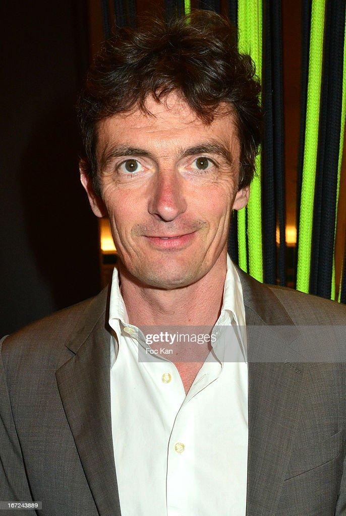 Denis Westhoff Son of Francoise Sagan attends the 'Le Bresil Rive Gauche' Exhibition At Le Bon Marche on April 22, 2013 in Paris, France.