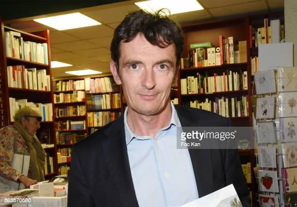 Denis WesthoffÊSon of Francoise Sagan attends 'Le Pays ou Je Suis Nee' Francoise Sagan Book Launch at Ecume des Pages on October 19 2017 in Paris...